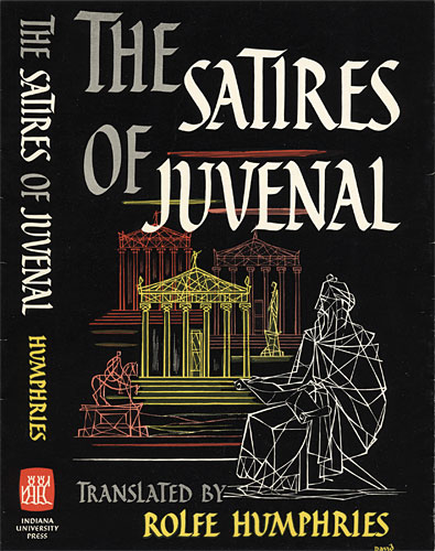 Juvenal's satires and Ironia