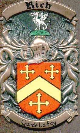 Rich Family Coat of Arms